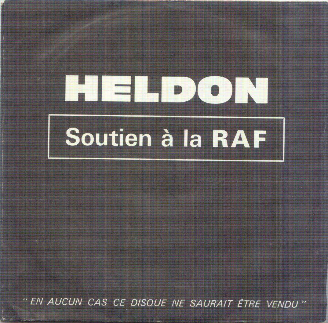 heldon SOUTIEN A LA RAF