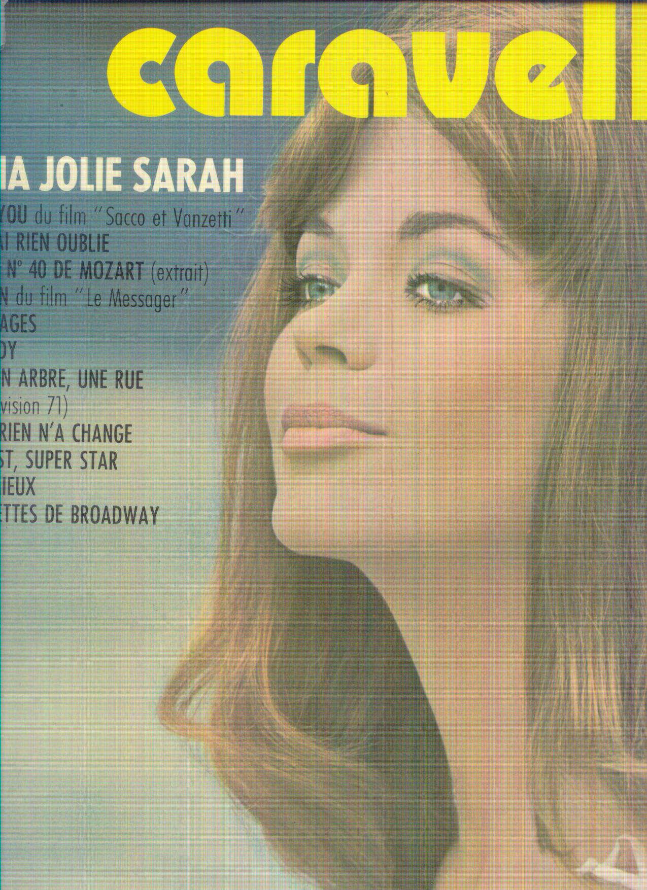 CARAVELLI OH! MA JOLIE SARAH