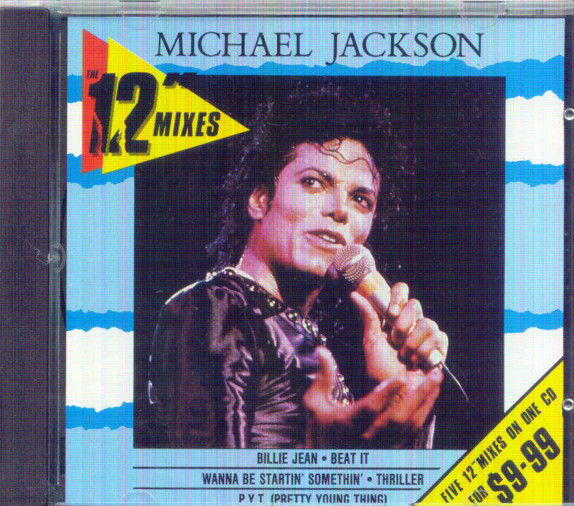 Michael Jackson - The 12' Mixes - 5 Tracks