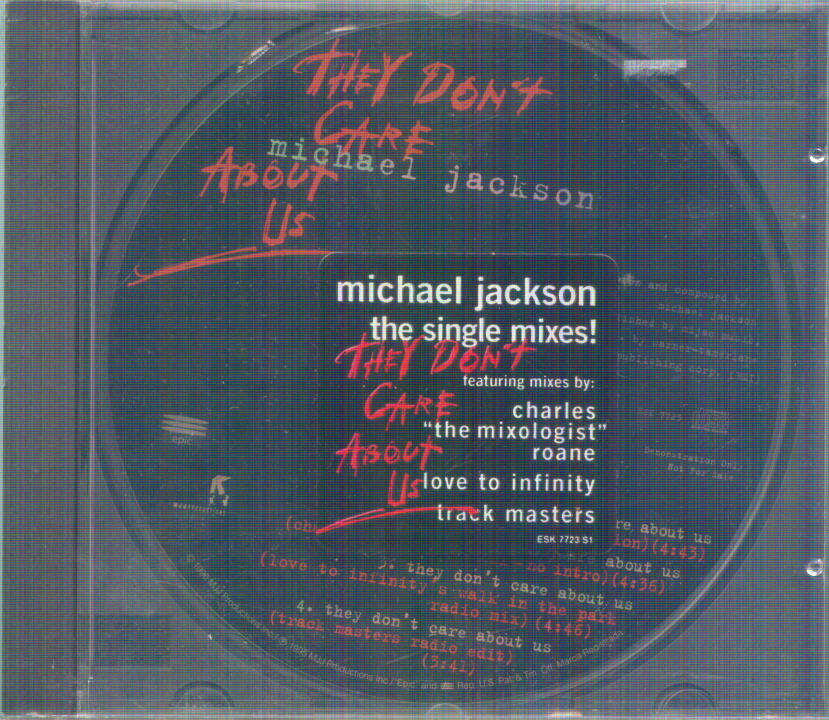 Michael Jackson - They Don't Care About Us(7 Version/...(charles Full...mix)/...(love To...mix)/...(track Masters..))