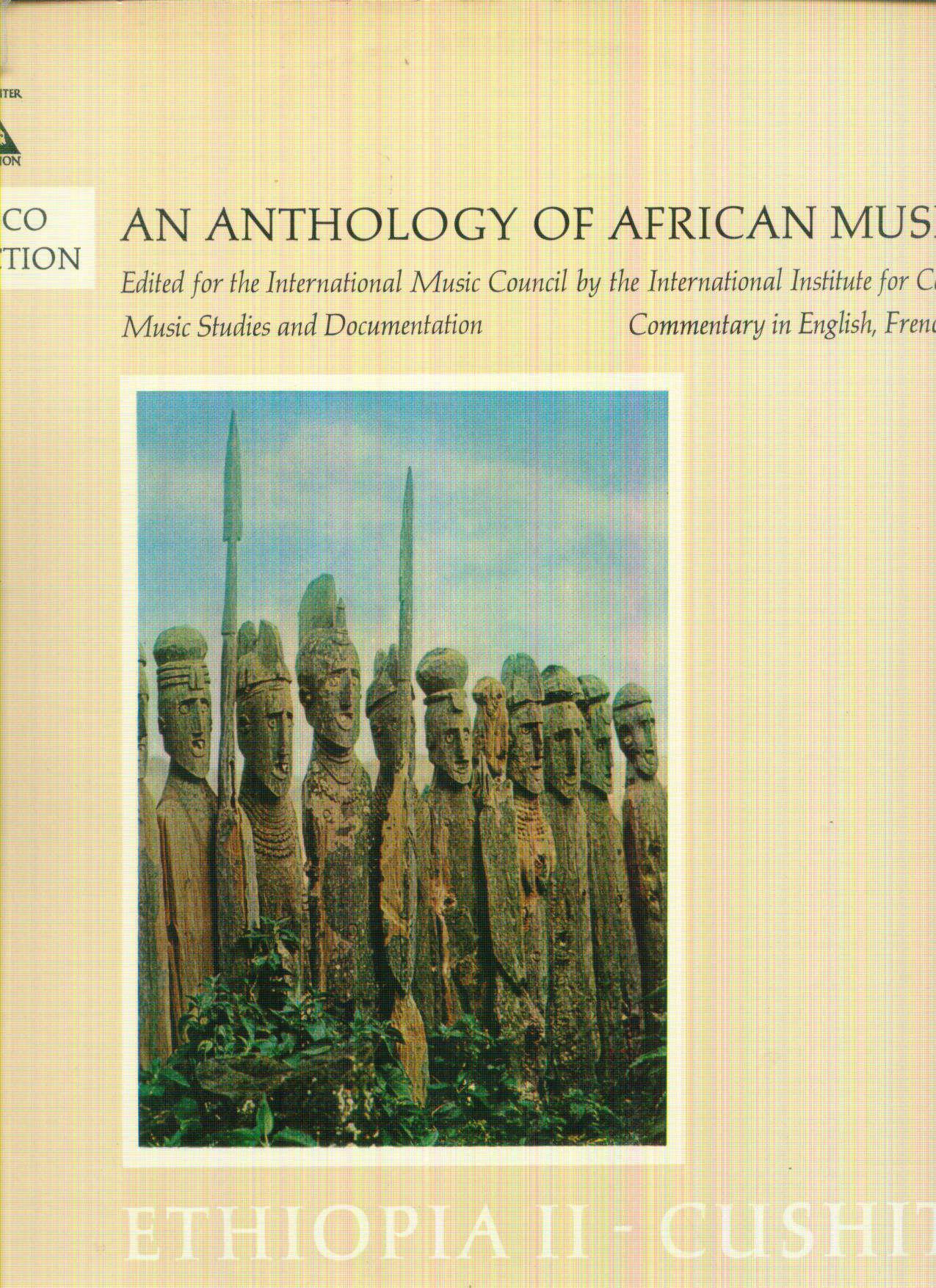 ANTHOLOGY OF AFRICAN MUSIC ANTHOLOGY OF AFRICAN MUSIC : ETHIOPIA - CUSHITES