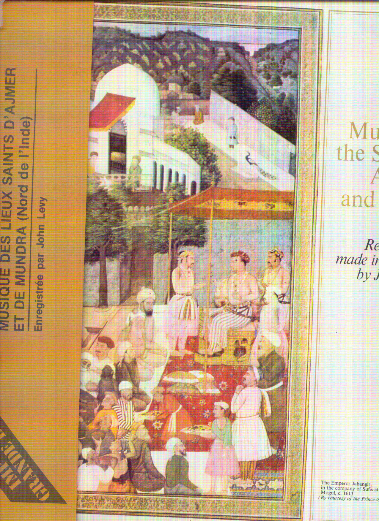 AJMER / MUNDRA / VARIOUS - INDIA MUSIC FROM THE SHRINES OF AJMER AND MUNDRA