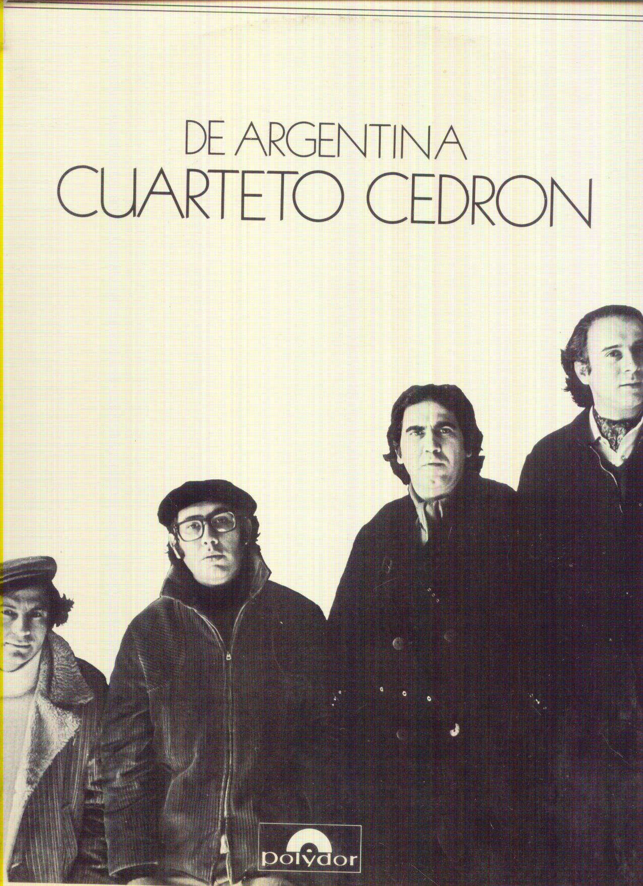 CUARTETO CEDRON CUARTETO CEDRON DE ARGENTINA