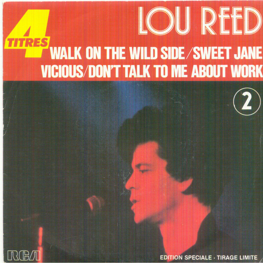 lou reed walk on the wild side records vinyl and cds hard to find and out of print. Black Bedroom Furniture Sets. Home Design Ideas
