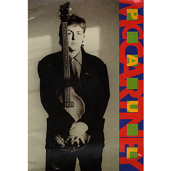 paul mccartney WORLD TOUR 1989/90 - TOUR PROGRAMME