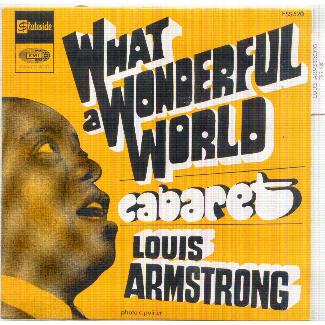 Louis armstrong what a wonderful world records vinyl and for Wonderful world