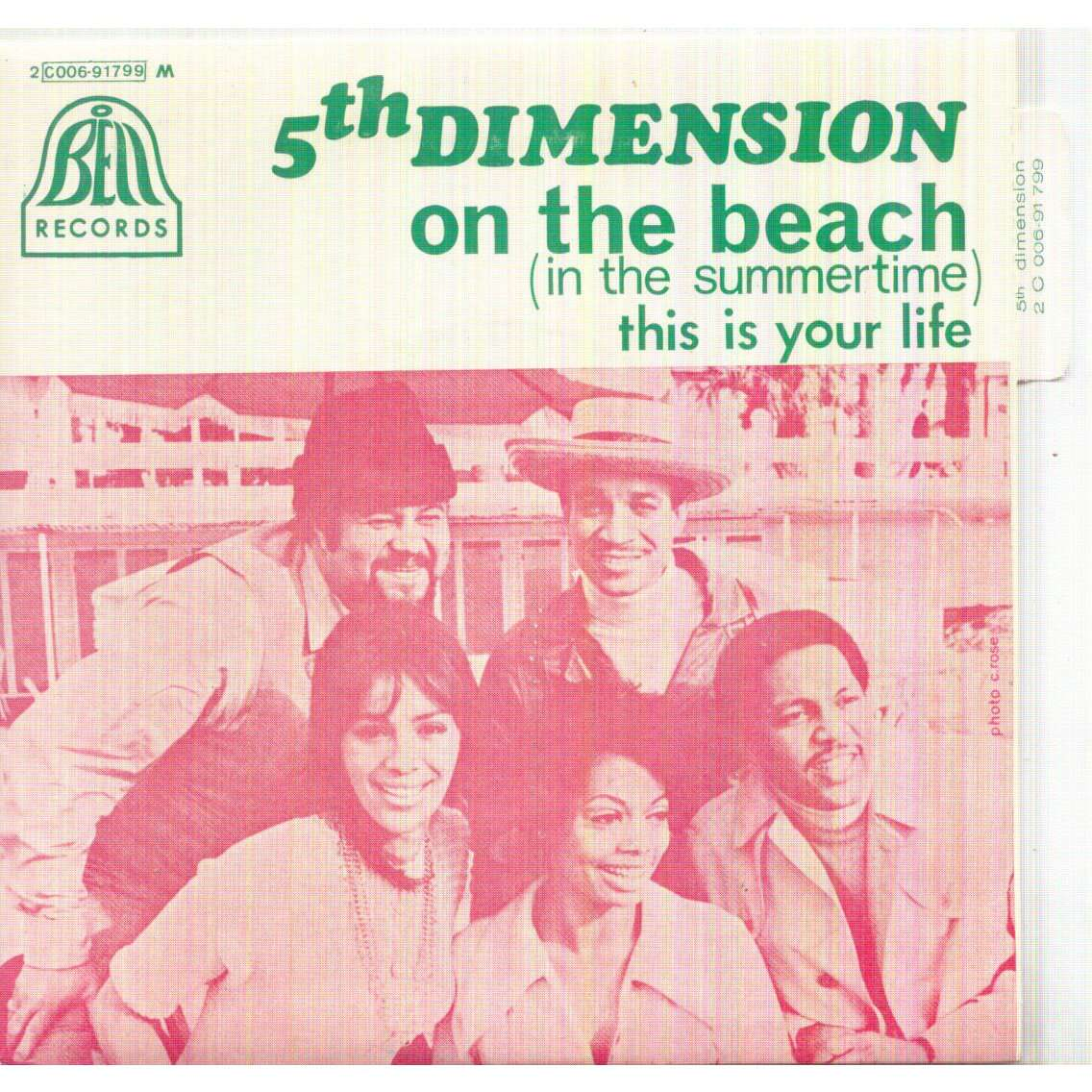 5TH DIMENSION ON THE BEACH (IN THE SUMMERTIME) / THIS IS YOUR LIFE