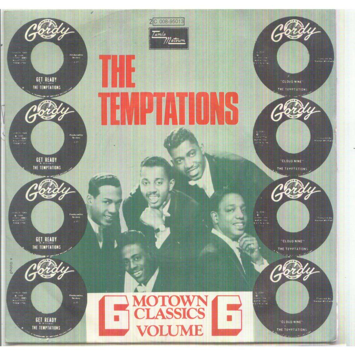 Temptations - Motown Classics Vol 6 : Cloud Nine / Get Ready
