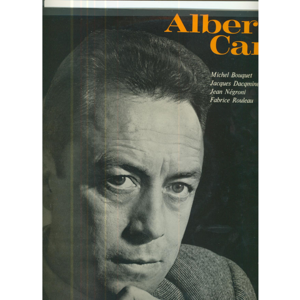 ALBERT CAMUS ENCYCLOPEDIE SONORE - PAGES CHOISIES