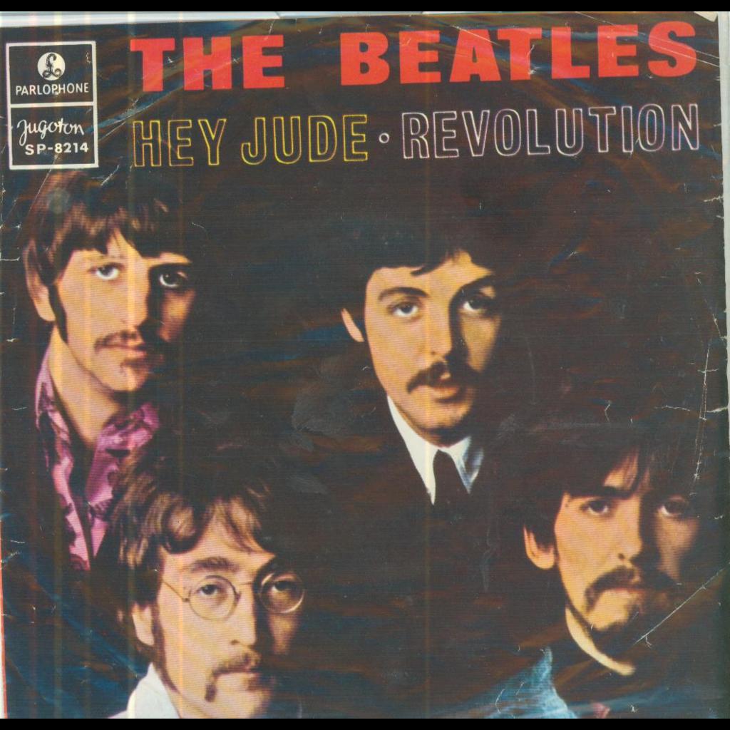 THE BEATLES HEY JUDE / REVOLUTION