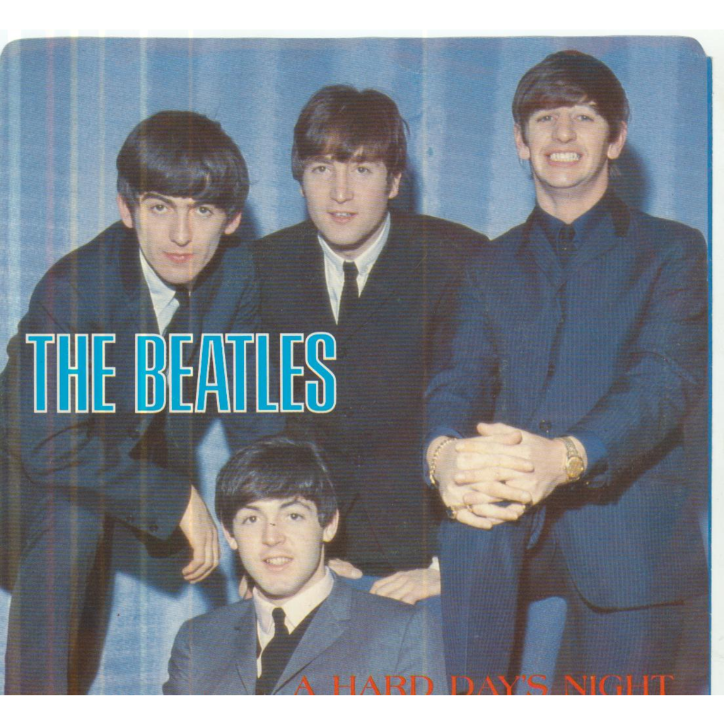 THE BEATLES A hard day's night/Things we said today