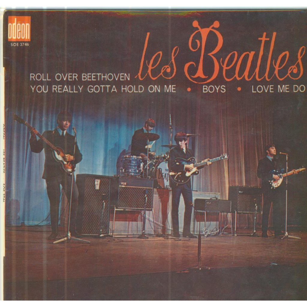 Roll Over Beethoven/you Really Gotta Hold On Me/boys/love Me Do - Beatles