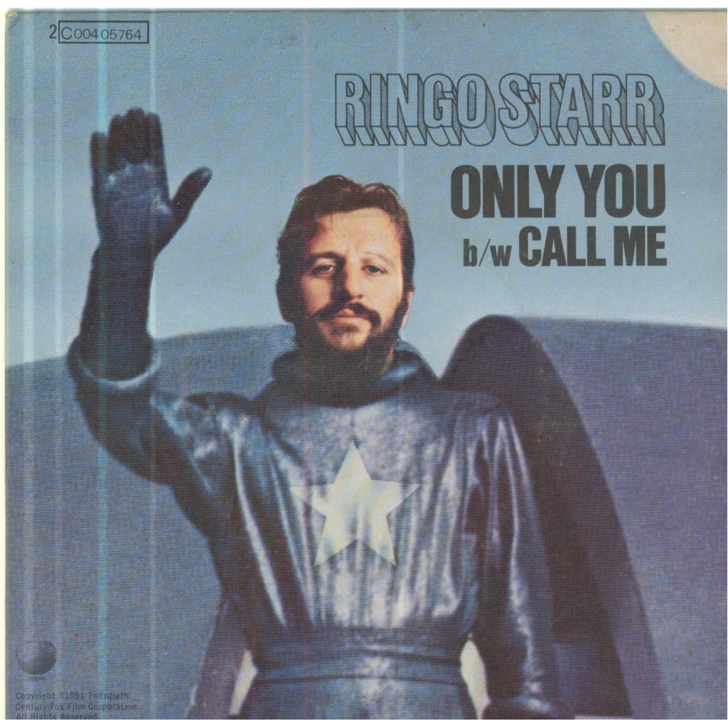 RINGO STARR ONLY YOU / CALL ME