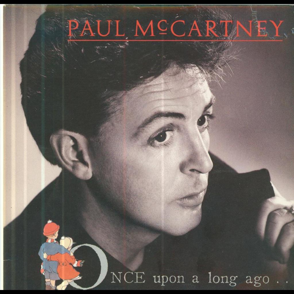 PAUL MCCARTNEY Once upon a long ago/Back on my feet