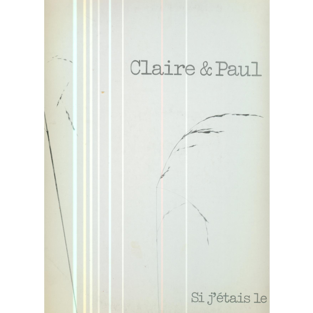 CLAIRE & PAUL SI J'ETAIS LE SOLEIL