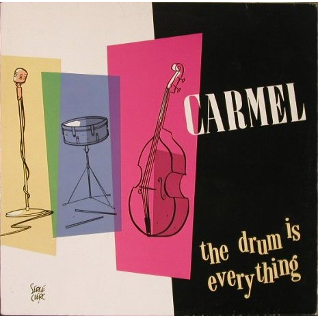 CARMEL THE DRUM IS EVERYTHING - POCHETTE SERGE CLERC