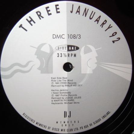 VARIOUS / DMC DMC - JANUARY 1992 - THREE