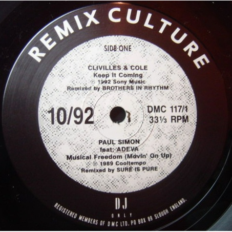 various - DMC Remix Culture 10/92