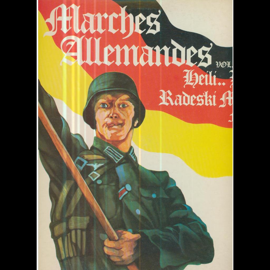 VARIOUS - MARCHES ALLEMANDES MARCHES ALLEMANDES - VOLUME 3