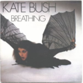 KATE BUSH - Breathing/The empty bullring - 45T (SP 2 titres)