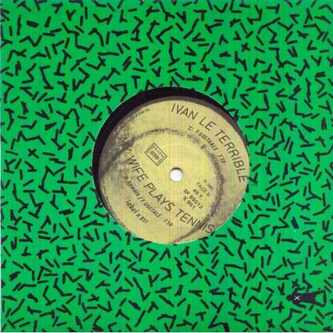 AGENCE TASS - Play tennis/Ivan le terrible/My wife plays tennis - 45T (SP 2 titres)