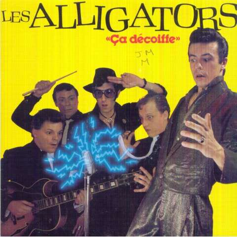 ALLIGATORS - Ca decoiffe/Papier glace - 45T (SP 2 titres)