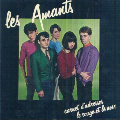 AMANTS - Carnet d'adresses/Le rouge et le noir - 45T (SP 2 titres)
