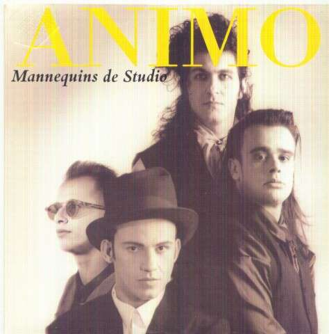 ANIMO - Mannequins de studio/...(Instrumental short edit) - 7inch (SP)