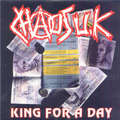 CHAOS UK - King For A Day EP (6 TRACKS) - 7inch (EP)