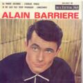 ALAIN BARRIERE - LA MARIE JOCONDE/J'AURAIS VOULU:JE NE SAIS PAS TROP POURQUOI/LONGTEMPS - 45T (EP 4 titres)