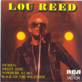 LOU REED - VICIOUS/SWEET JANE/NOWHERE AT ALL/WALK ON THE WILD SIDE - 45T (EP 4 titres)