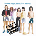 THE ROLLING STONES - BROWN SUGAR / BITCH / LET IT ROCK (LIVE AT LEEDS 71) - 7inch (EP)