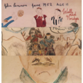 JOHN LENNON - WALLS AND BRIDGES (UK ORIGINAL WITH FOLD OUT COVER) - 33T