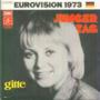 GITTE - JUNGER TAG / HALLO, WIE GEHT ES ROBERT (EUROVISION 73) - 45T (SP 2 titres)
