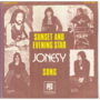 JONESY - SUNSET AND EVENING STAR/SONG (VERY RARE UK PSYCH PROG BAND) - 45T (SP 2 titres)
