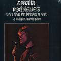AMALIA RODRIGUES - VOU DAR DE BEBER A DOR - LA MAISON SUR LE PONT - 33T