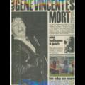 SUPER HEBDO POP MUSIC - N°79  - OCTOBRE 1971 - GENE VINCENT EST MORT - Magazine
