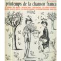 VARIOUS (BREL/GAINSBOURG/FRERES JACQUES) - LE PRINTEMPS DE LA CHANSON FRANCAISE - 25 cm