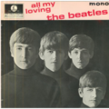 THE BEATLES - ALL MY LOVING/ASK ME WHY/MONEY/P.S. I LOVE YOU - 45T (EP 4 titres)
