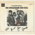 THE BEATLES - Una sensazionale intevista con Paul,Ringo,John,George - 45T (SP 2 titres)