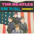THE BEATLES - MONEY / SURE TO FALL (CLEAR VINYL) - 45T (SP 2 titres)