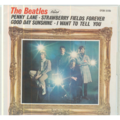THE BEATLES - Penny lane/Strawberry fields forever/Good day sunshine/I want to tell you - 45T (EP 4 titres)