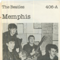 THE BEATLES - Memphis/Love of the loved - 45T (SP 2 titres)