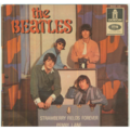 THE BEATLES - STRAWBERRY FIELDS FOREVER/PENNY LANE/AND YOUR BIRD CAN SING/I'M ONLY SLEEPING - 45T (EP 4 titres)