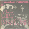 THE BEATLES - PAPERBACK WRITER / RAIN - 45T (SP 2 titres)