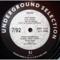 VARIOUS / DMC - UNDERGROUND SELECTION 7/92 - 12 inch 45 rpm