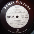 VARIOUS - DMC - Remix Culture 10/92 - 12 inch 45 rpm