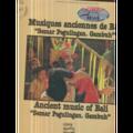 ANCIENT MUSIC OF BALI - SEMAR PEGULINGAN GAMBUH - MUSIQUES ANCIENNES DE BALI - COLLECTION MUSEE DE L'HOMME - 33T