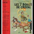 VINCENT VIAL / TINTIN / HERGE - TINTIN - LES 7 BOULES DE CRISTAL (ORIGINAL 1ERE EDITION - RARE) - 25 cm