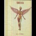 NIRVANA - IN UTERO - CLEAR VINYL - ORIGINAL US - 33T